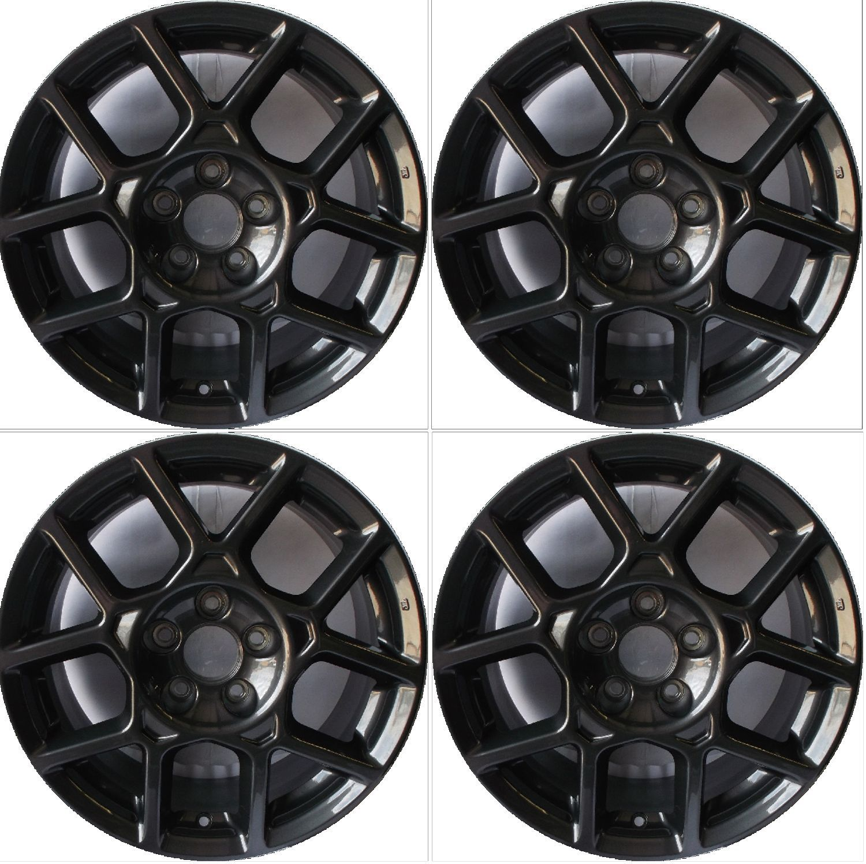 "1-17/"" Type S Style Alloy Wheel Rim Fits 2007 2008 Acura Tl Dark Hyper Silver"