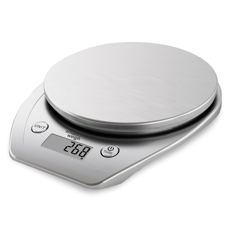 Smart Weigh 11lbs x 0.1oz Precision Digital Kitchen Food Scale Bake ...