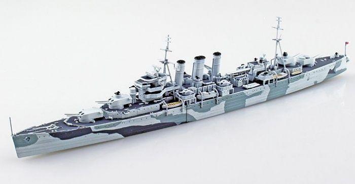 Aoshima British Royal Navy Heavy Cruiser HMS Norfolk 1/700 S