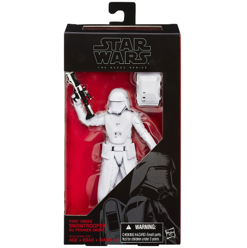 "Star Wars Black Series First Order Snowtrooper Officer 6/"" inch Figure TRU Exclus"
