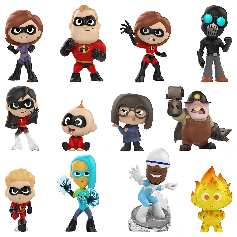 Funko Mystery Mini Disney The Incredibles 2 HELEN PARR ELASTIGIRL REDNew In Hand