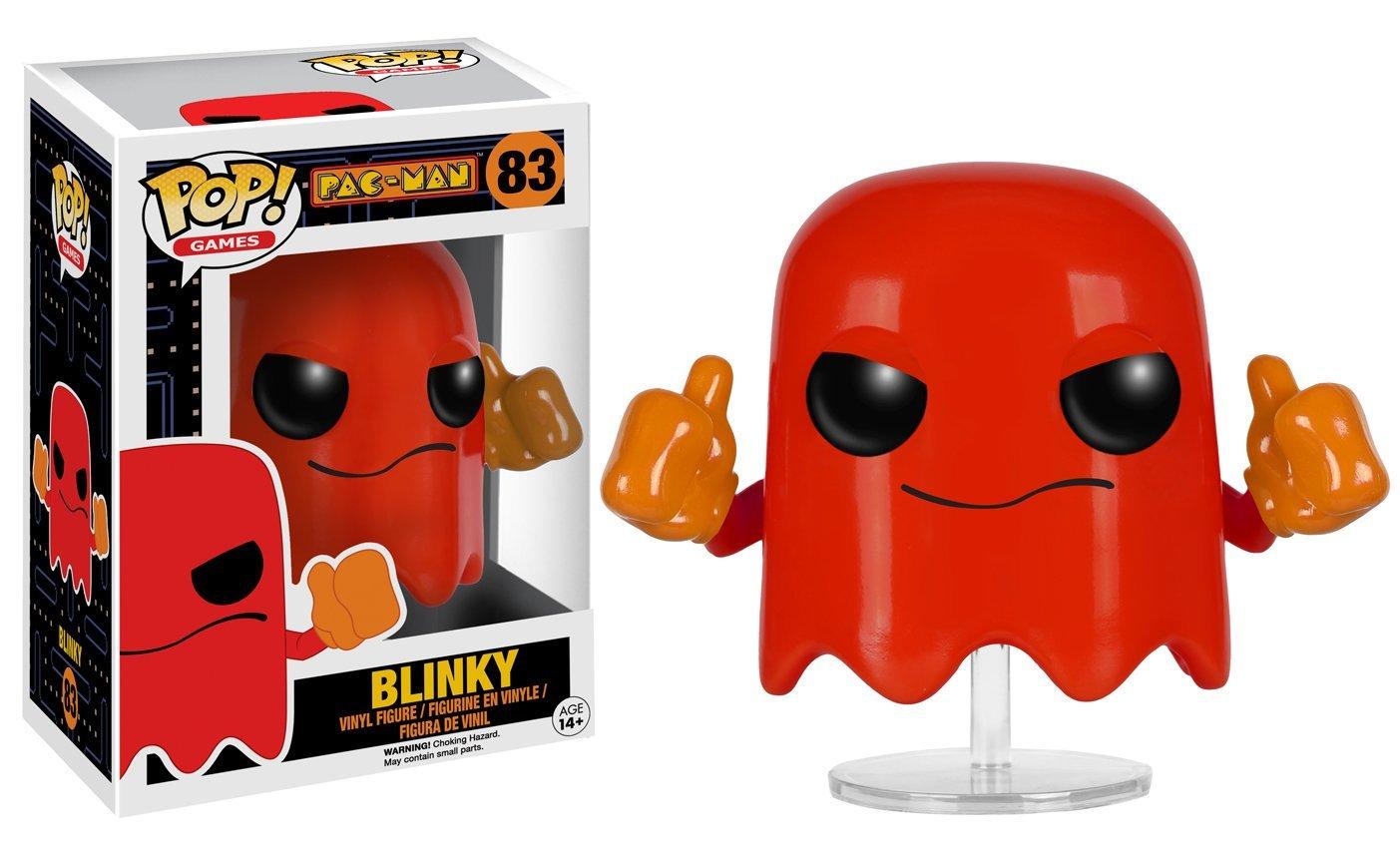 funko pop games pac man blinky vinyl figure 849803076412 ebay