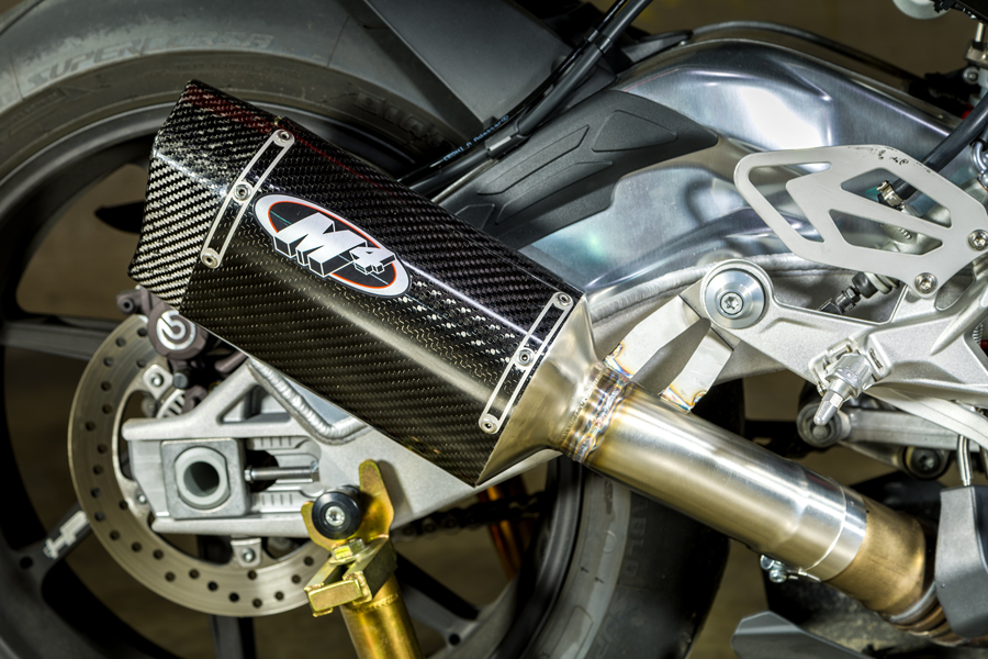 M4 Exhaust Bmw S1000rr 2015 2016 Tech One Carbon Slip On Exhaust Ebay