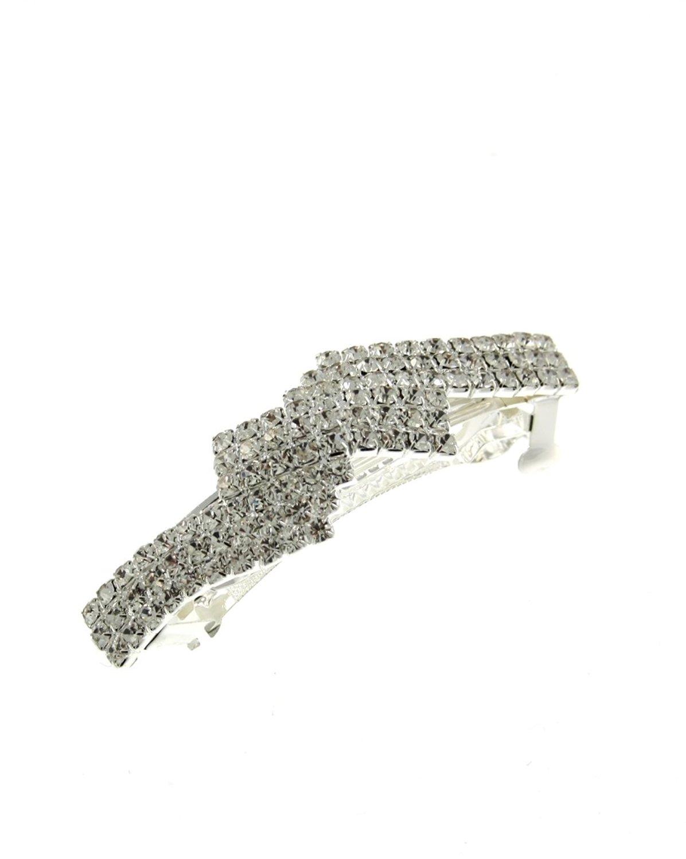 Zac-039-s-Alter-Ego-Diamante-Barrette-Party-Wedding-Hair-Clip