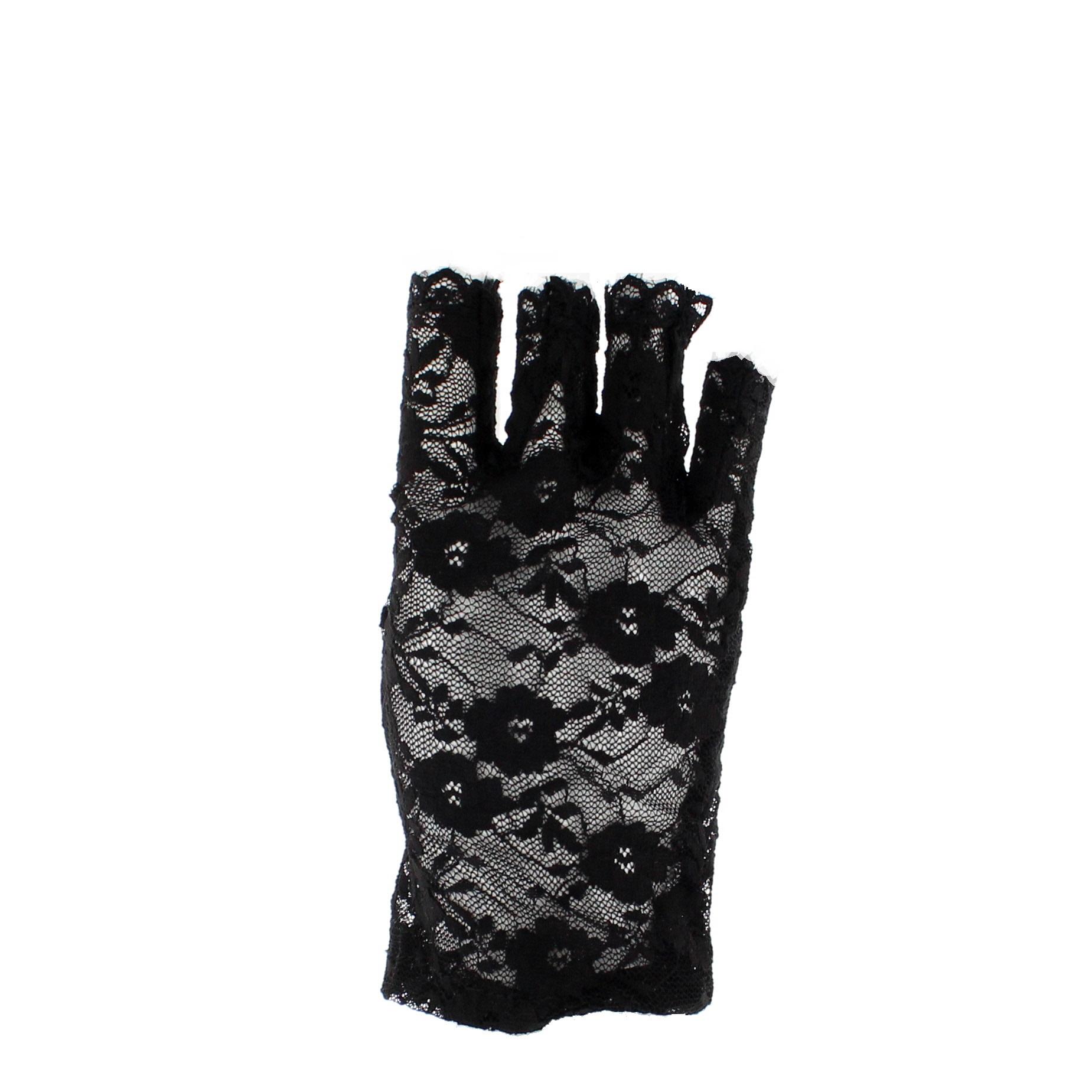 Zac-039-s-Alter-Ego-80s-Style-Short-Lace-Fingerless-Gloves