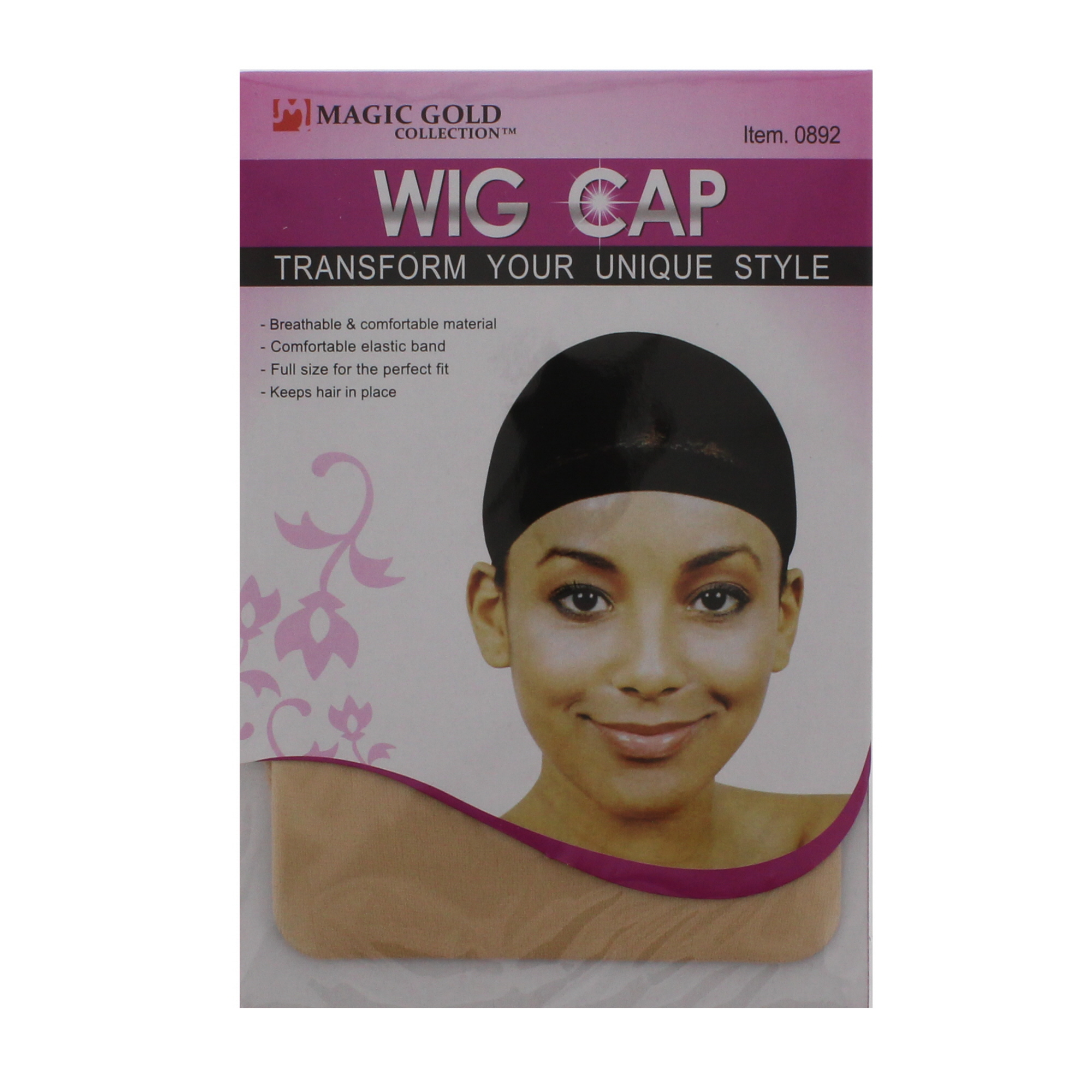 Zac-039-s-Alter-Ego-Pair-of-Comfortable-Wig-Caps-One-Size-Fits-All miniatura 6