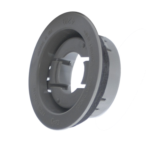 "Grote 43222 Black Theft-Resistant Mounting Flange For 6/"" Oval Lights"