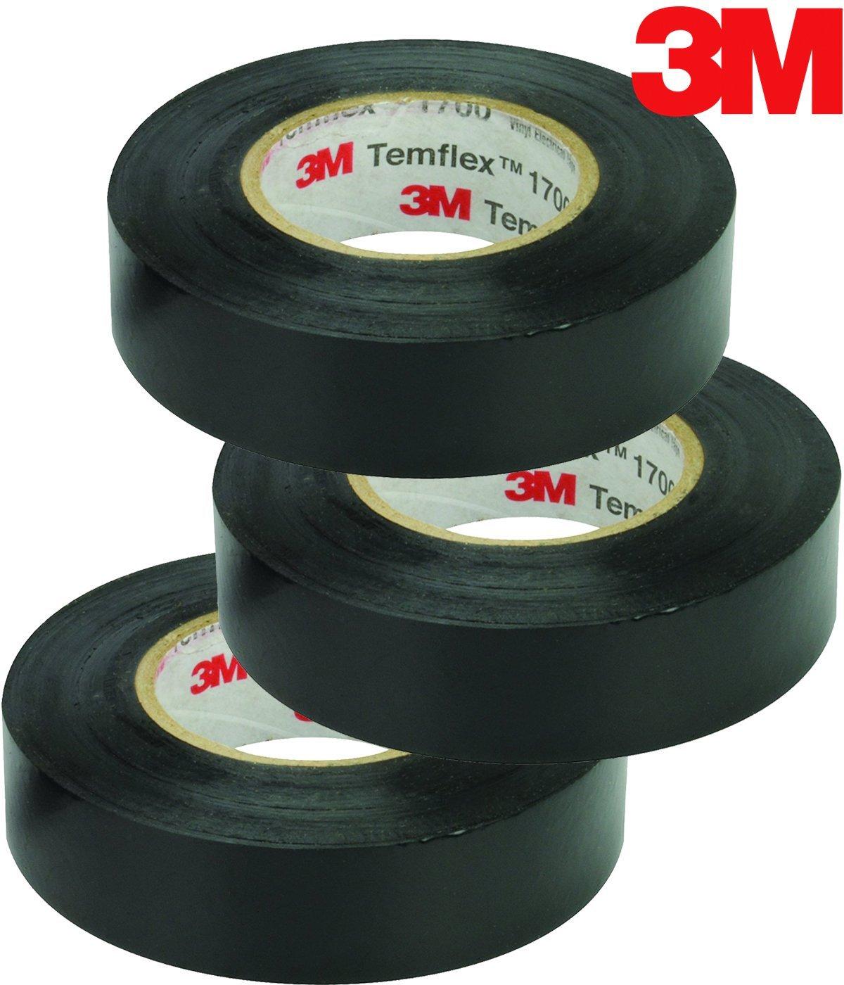 "4 Pack 3M 1700-3//4X60FT-1.5CORE 3//4/"" X 60/' 1.5 Core Vinyl Tape"