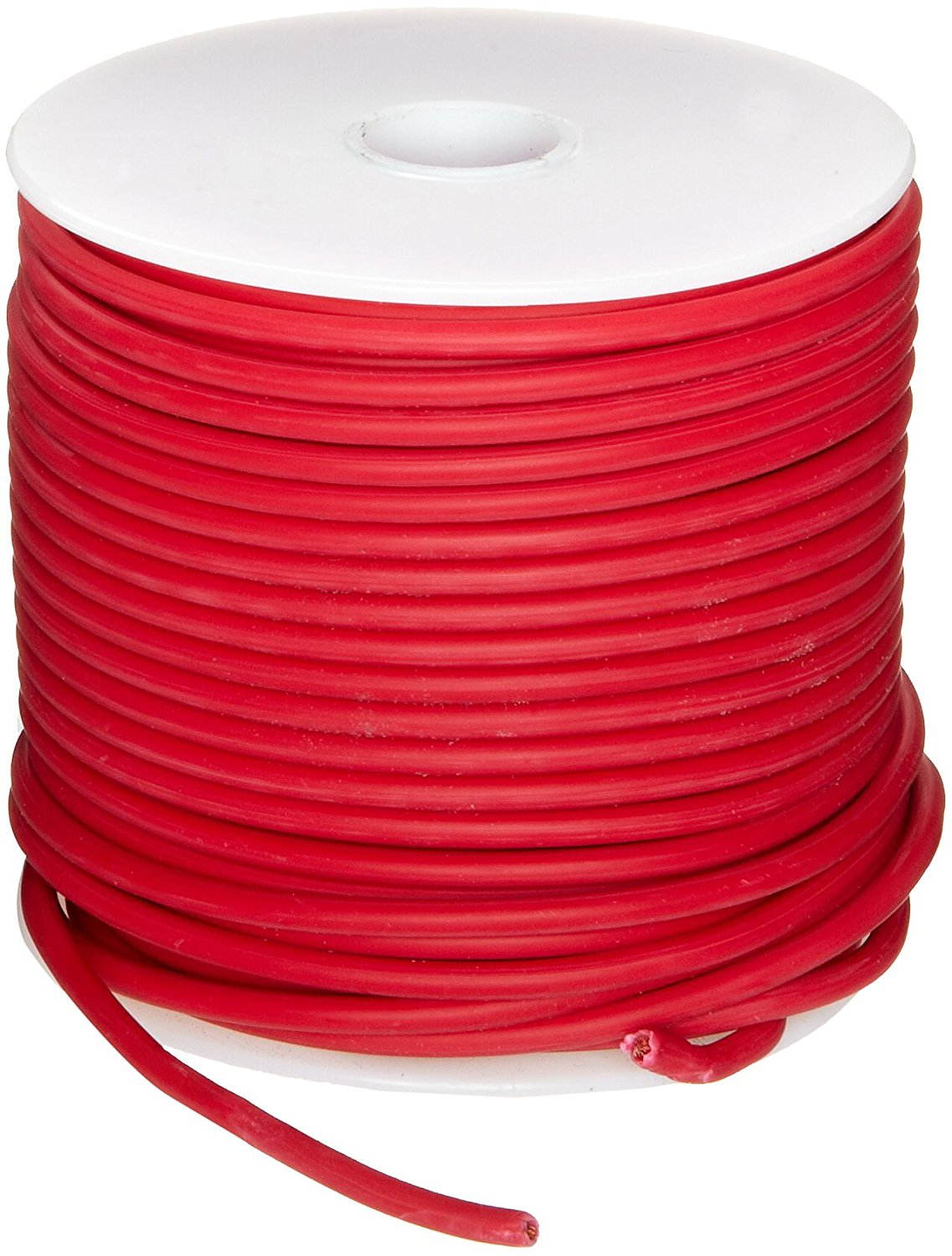 GXL Automotive Copper Wire, Red, 16 AWG, 0.0508\