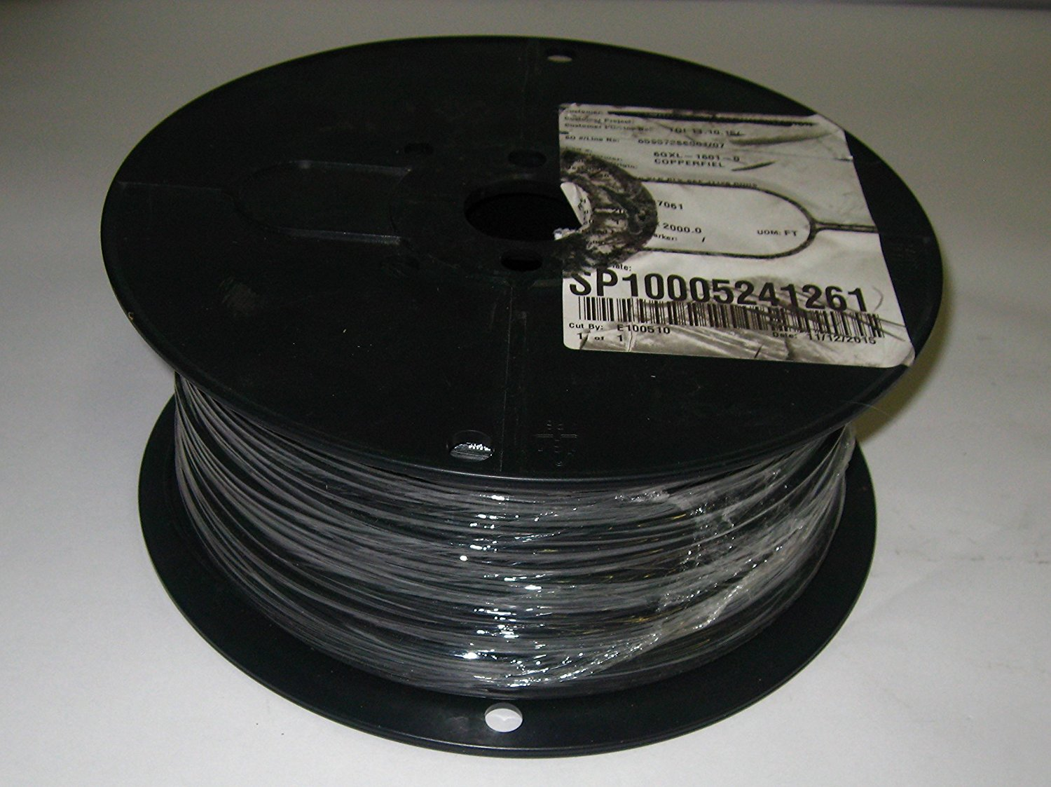 2000 ft 6GXL-1801-0 SAE J1128 Type GXL 18 AWG Black Copperfield 16 ...