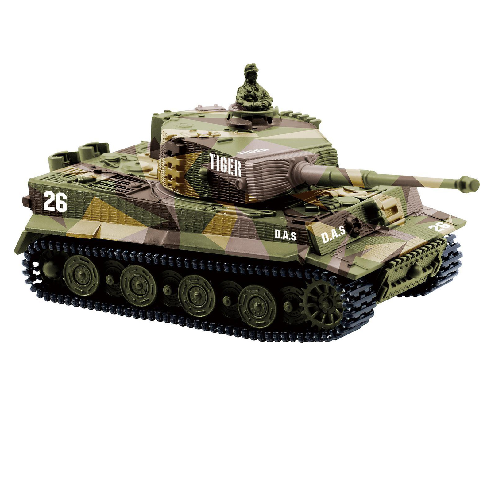 1 72 radio remote control mini rc german tiger i panzer. Black Bedroom Furniture Sets. Home Design Ideas
