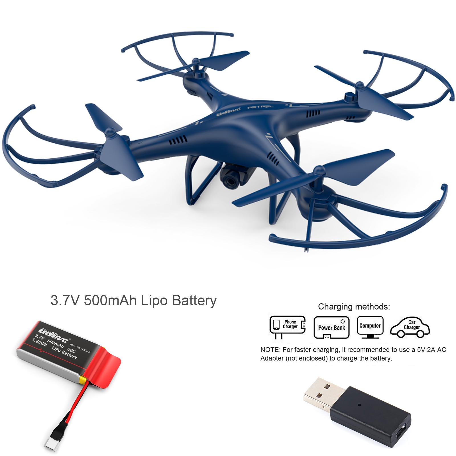 Udi Petrel U42w Fpv Drone 2 4 Ghz Rc Quadcopter With Hd
