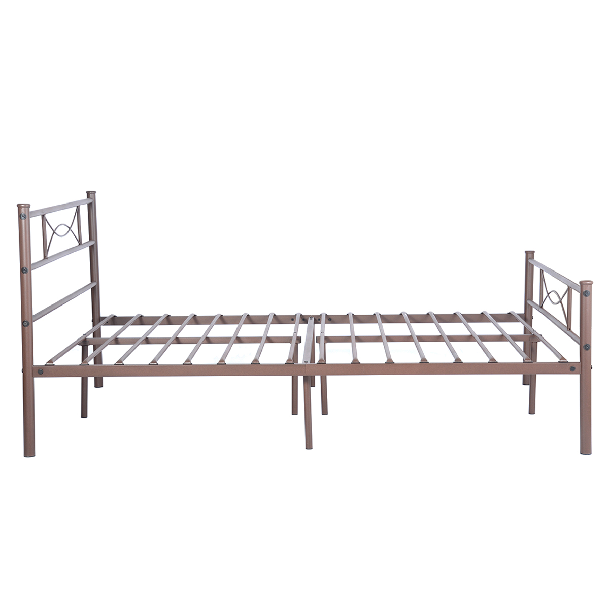 Twin full size bedroom metal bed frame platform mattress Metal twin bed frame