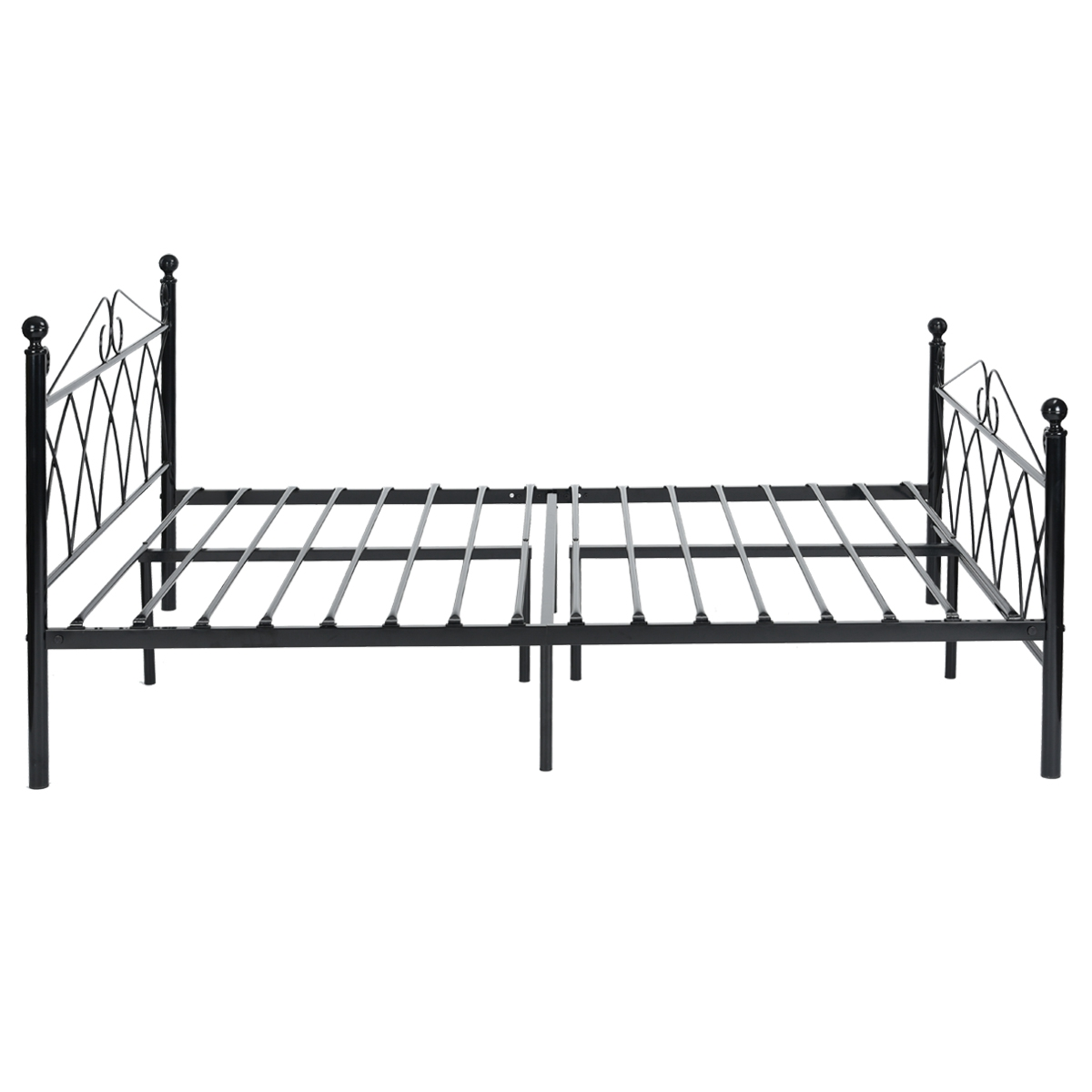 How To Assemble A Metal Bed Frame With Headboard