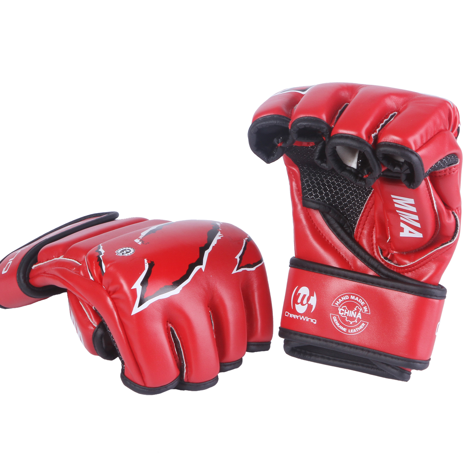 MMA UFC Boxing Gloves Sparring Grappling Fight Punch Mitts ...