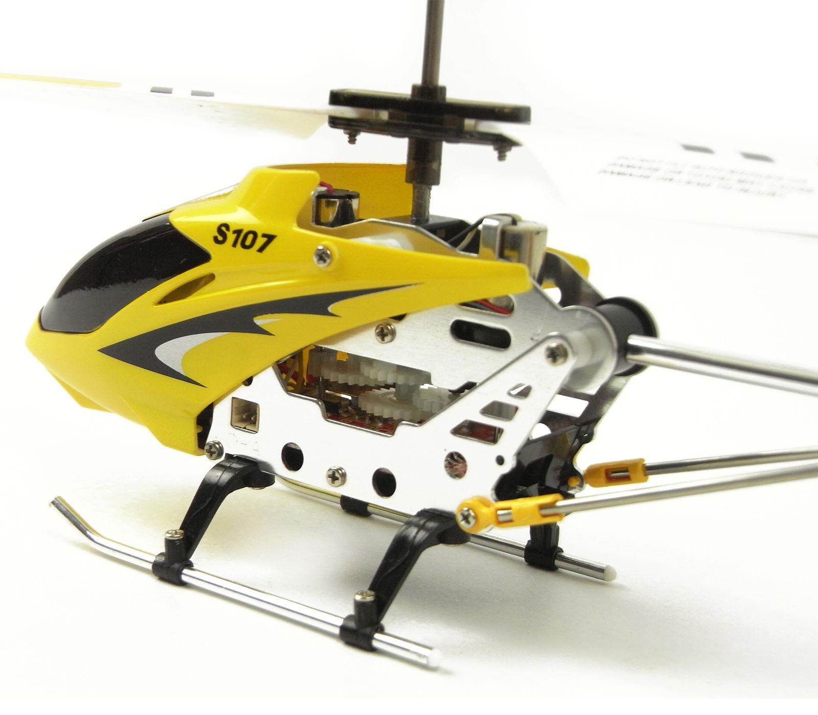 Cheerwing S107 S107g 3ch 3 5ch Mini Alloy Remote Control