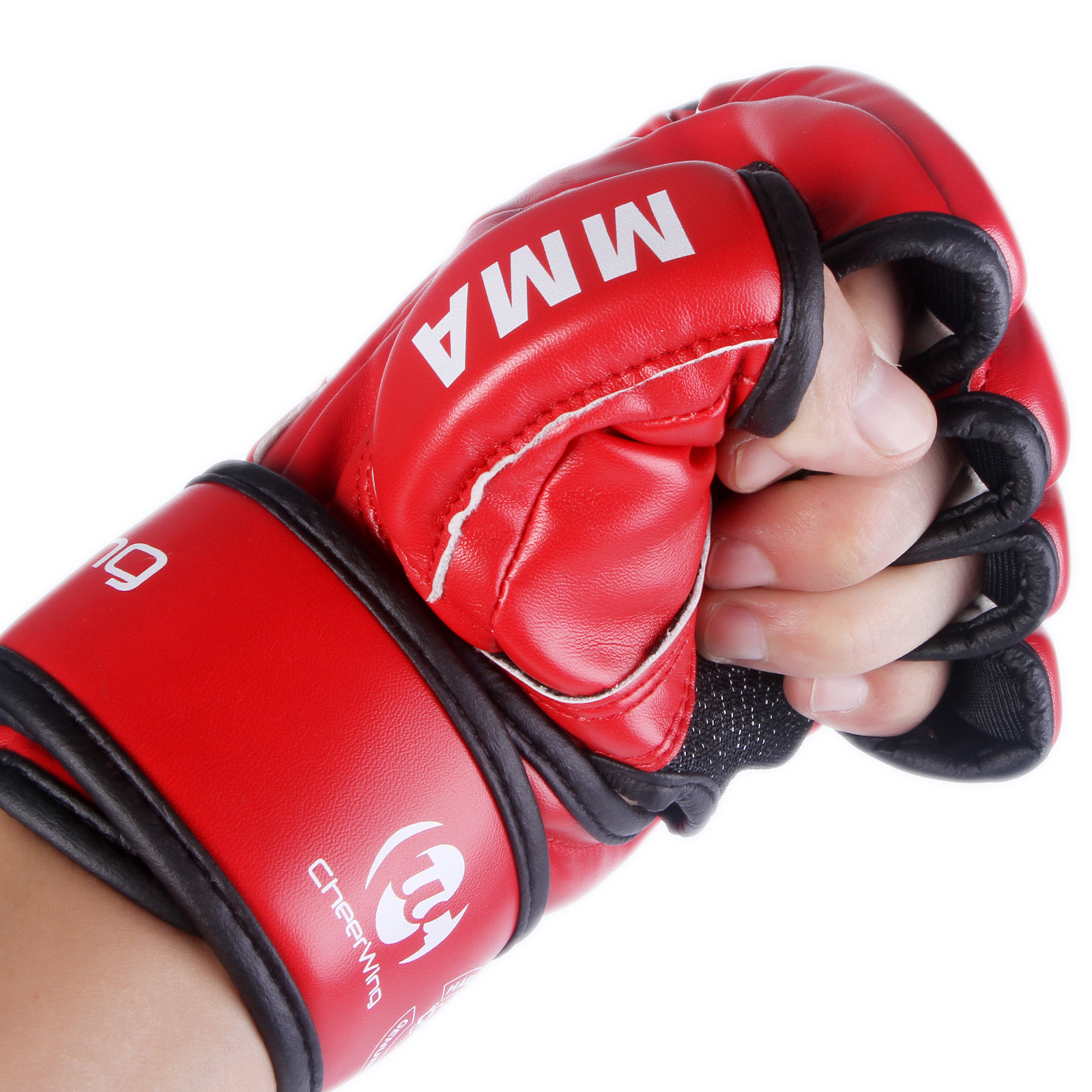 Sparring Grappling MMA UFC Boxing Gloves Fight Punch Mitts ...