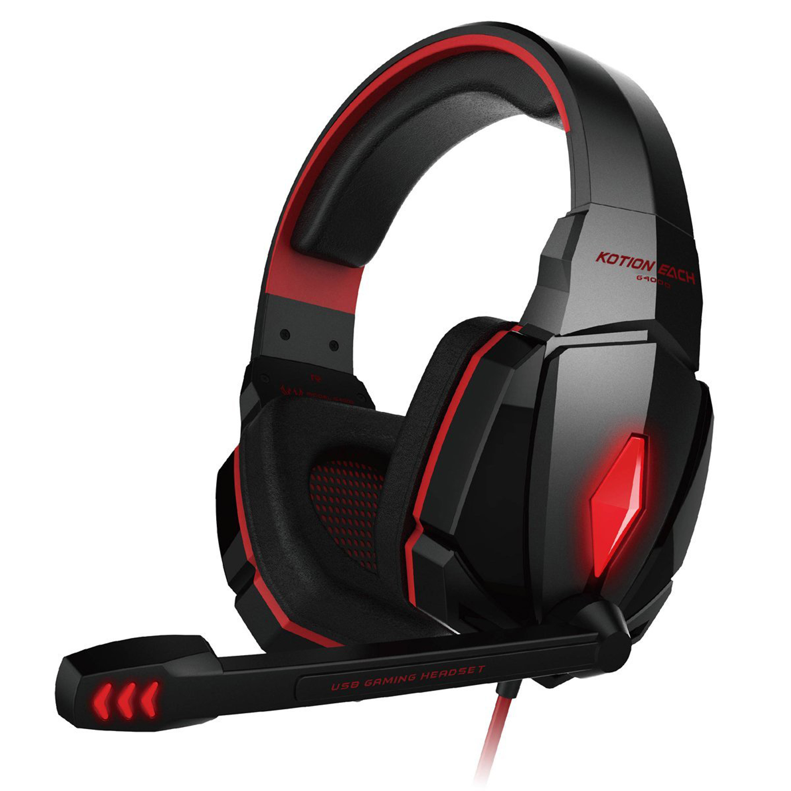 each g4000 gaming headset stereo headphones headband. Black Bedroom Furniture Sets. Home Design Ideas