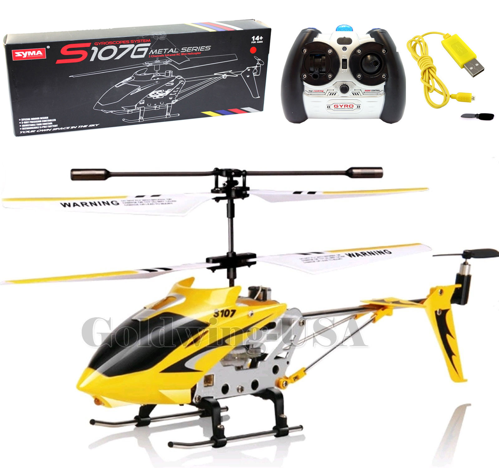 syma s107g helicopter 3 5ch mini metal remote control rc. Black Bedroom Furniture Sets. Home Design Ideas