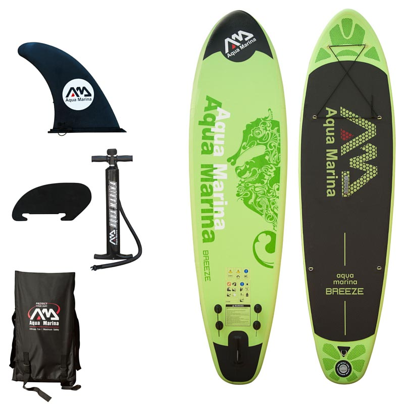 Aqua Marina Breeze Inflatable Stand Up Paddle Board 9 9