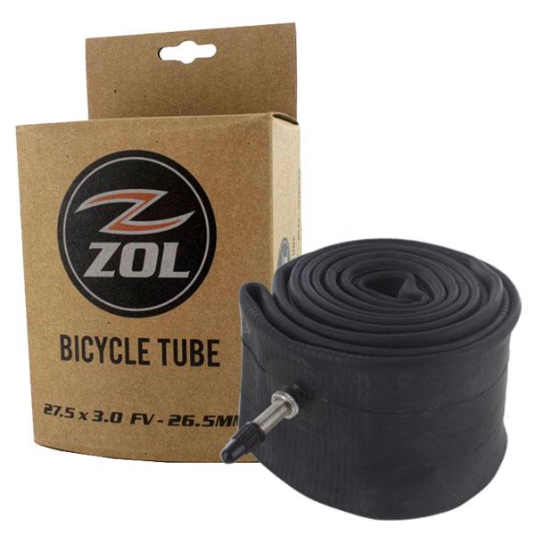 Zol Bundle Pack of 4 bike inner tube 700x23FV-48mm /& 3 Zol Tires Levers