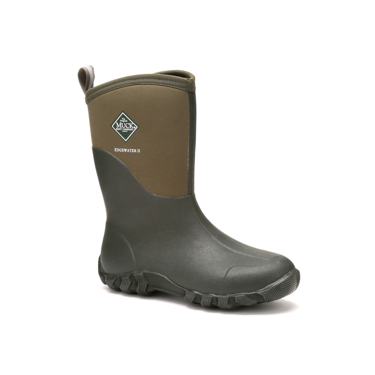 Muck Boots Edgewater Mid Classic Muck Style Boot-Moss | eBay