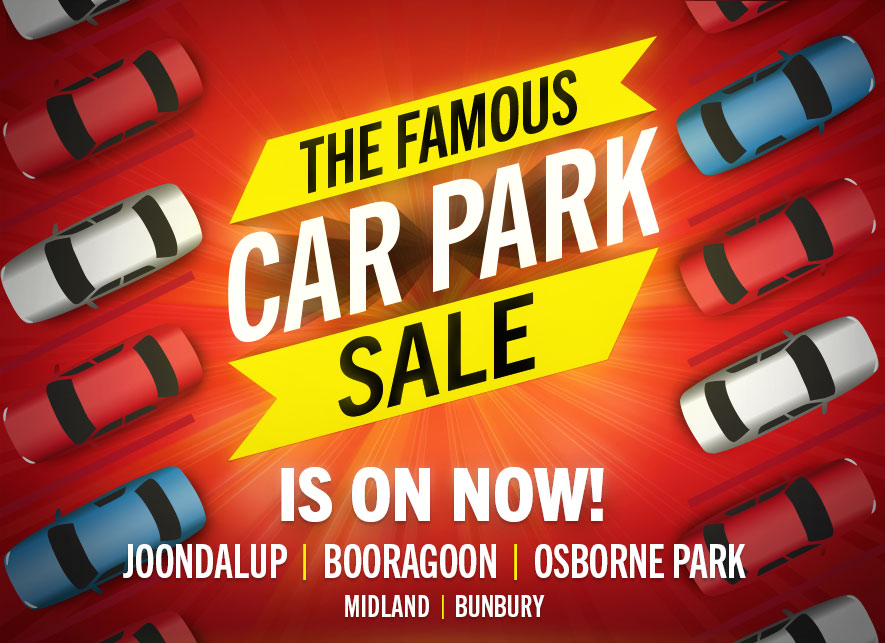 Famous Carpark sale