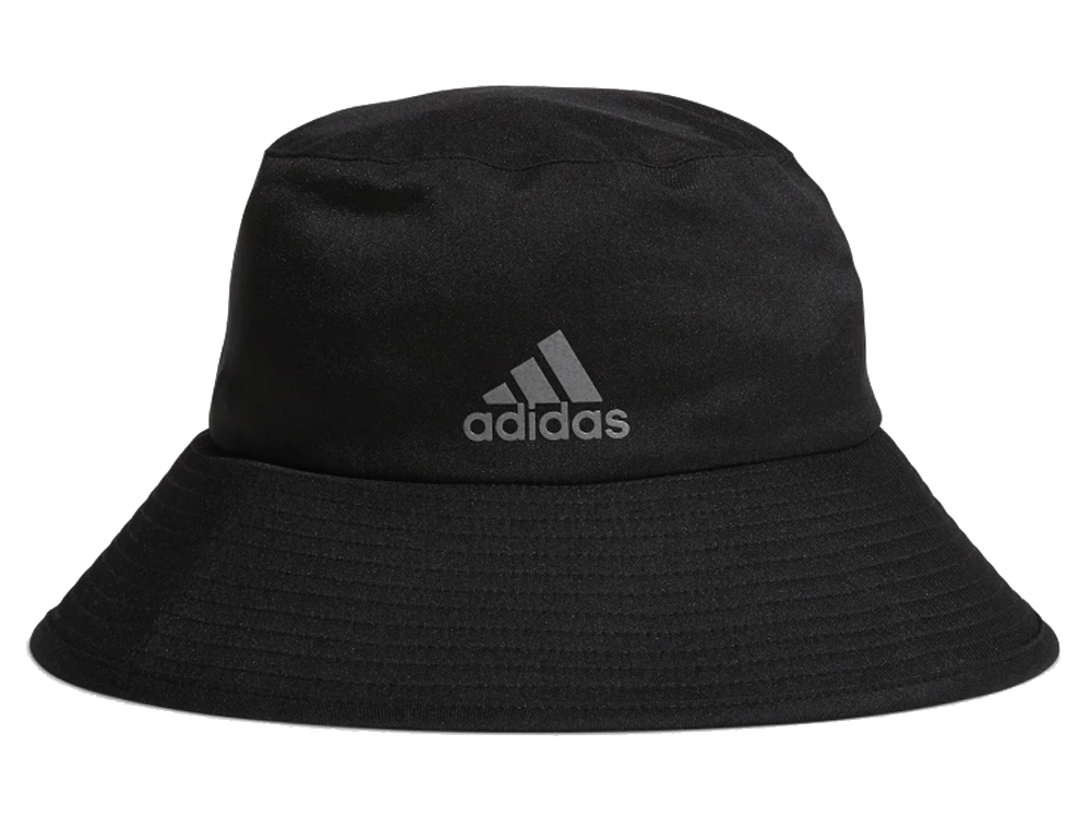 Adidas Climaproof Bucket Hat - Black/Vista Grey -  Mens Poly
