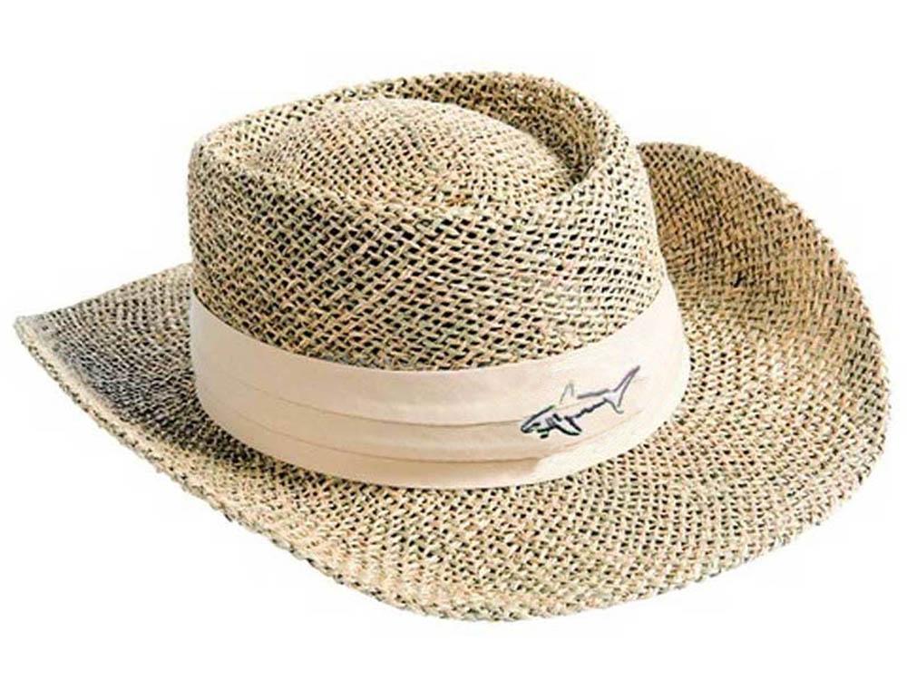 Greg Norman Straw Hat - Natural