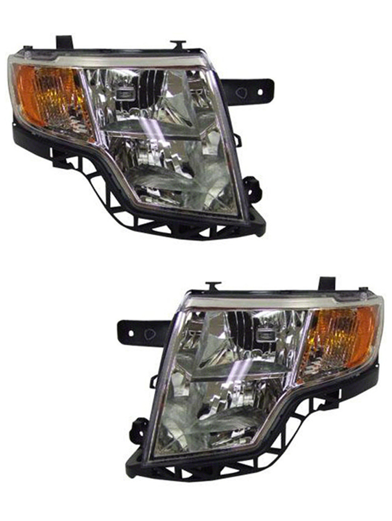 Head Lamp Assembly Driver Side Fits 2007-2010 Ford Edge 114-01018AL