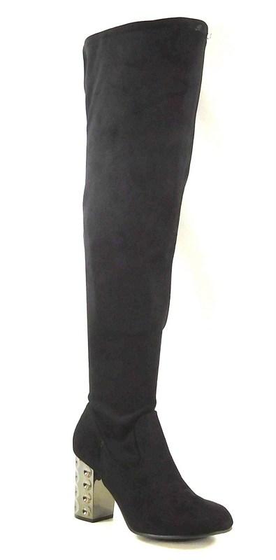 carlos by carlos santana quantum boots black wide calf 8 5m