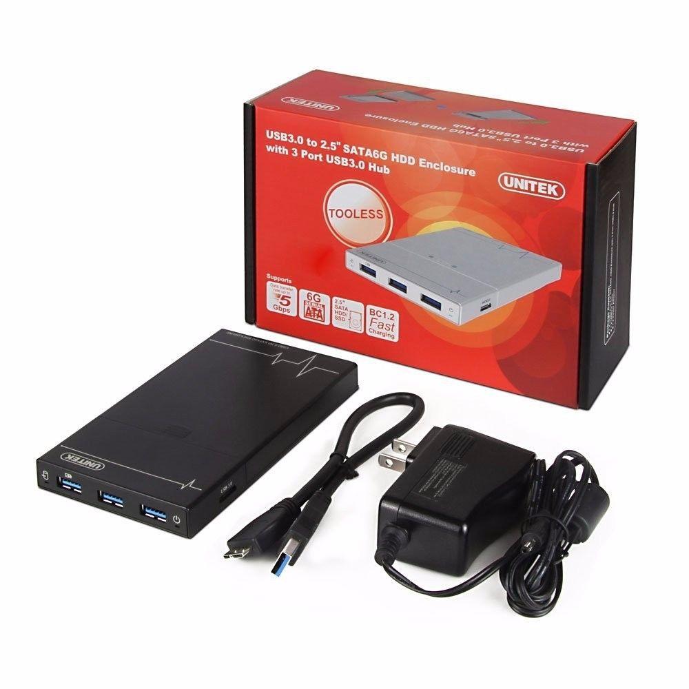 "USB 3.0 External 2.5/"" SATA SSD HDD Hard Disc Drive Enclosure Case Multi-Color"