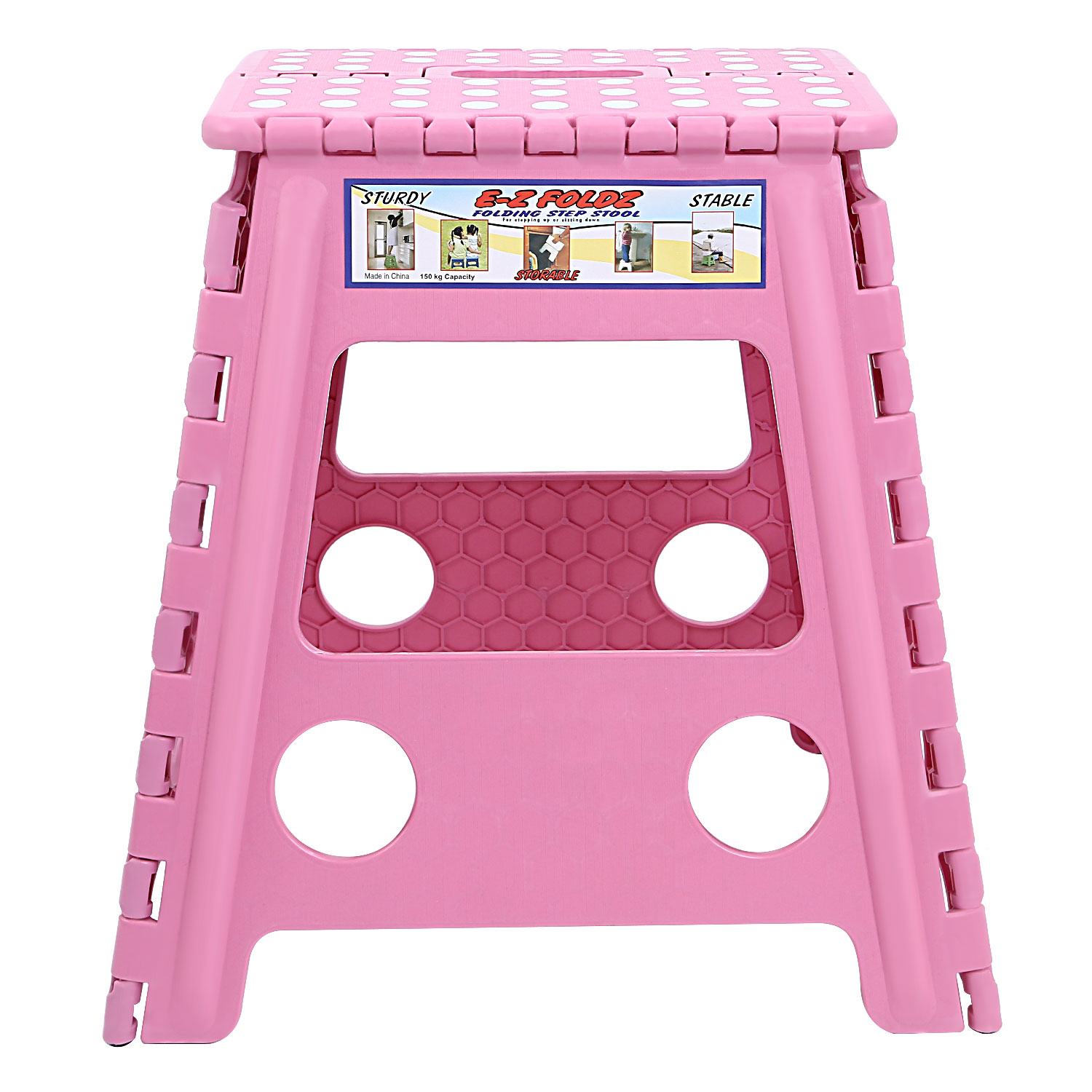 Anti slip folding step stool for toddlers kids bathroom adults kitchen fishing ebay Bathroom step stool for kids