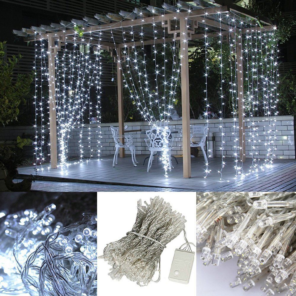 Indoor Christmas Party Decorations: UK Warm White 20-1000LED Fairy String Lights Indoor