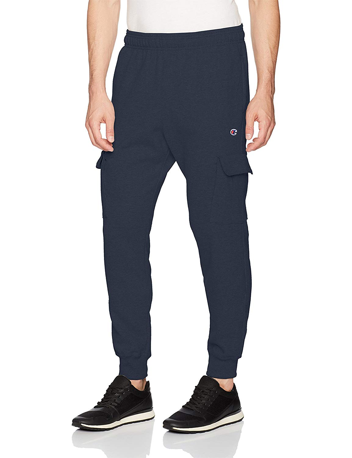fb3ee9e44b37 Image is loading Champion-Mens-Powerblend-Fleece-Cargo-Jogger-Adult-Jogger