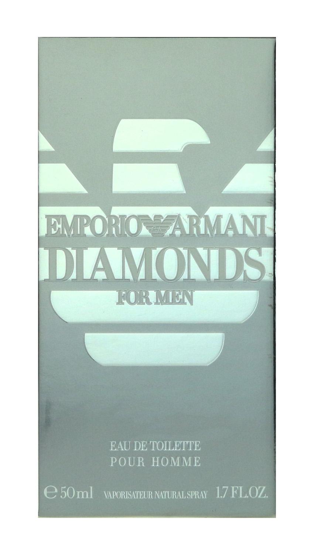 Emporio Armani Diamonds For Men Eau De Toilette Spray 1.7Oz/50ml New In Box