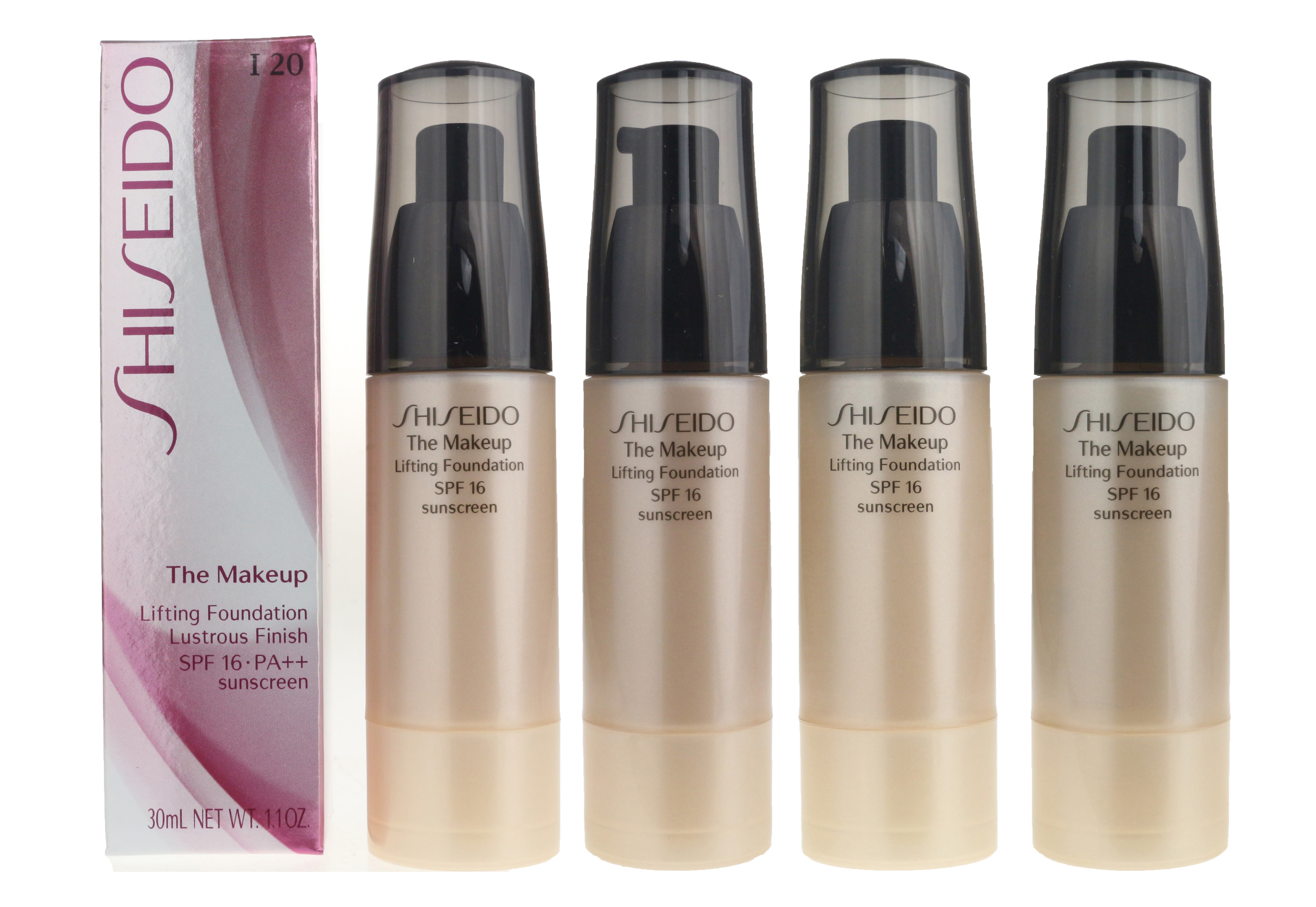 Shiseido The Makeup Lifting Foundation I20 Natural Light Ivory 1 1oz New In Box