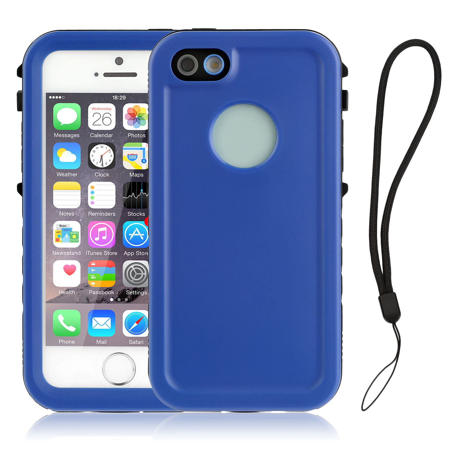 underwater iphone 5 case for apple iphone 5 5s se waterproof underwater cover shock 8385