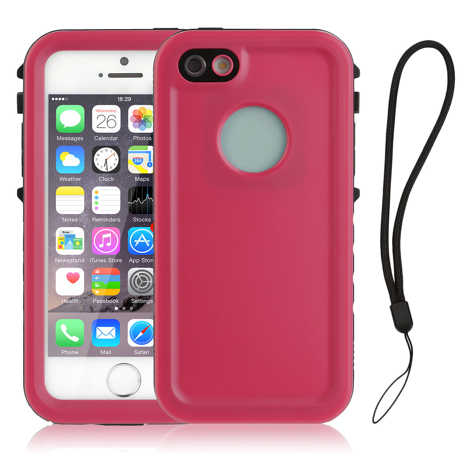 waterproof cases for iphone 5s for apple iphone 5 5s se waterproof underwater cover shock 18177