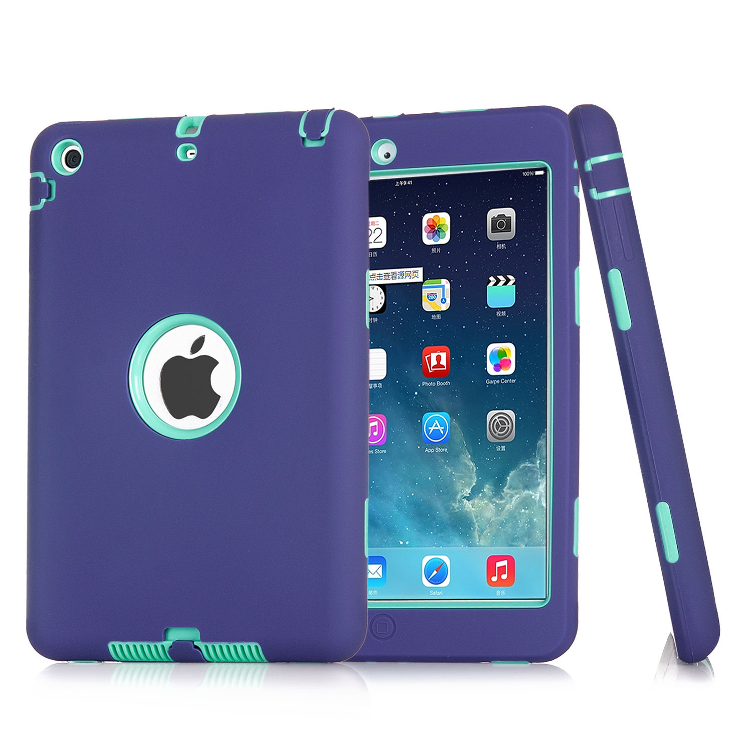 For Apple iPad 4 3 2 Air mini Armor - 215.8KB