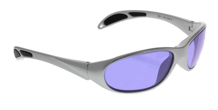 a75334c7c4 Phillips 202 Didymium Glass Working Spectacles in Gray Maxx Wrap ...