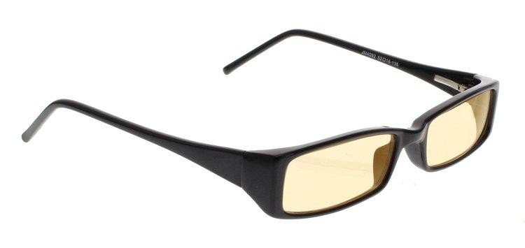 Driving Glasses With Peach Poly Double Sided Anti