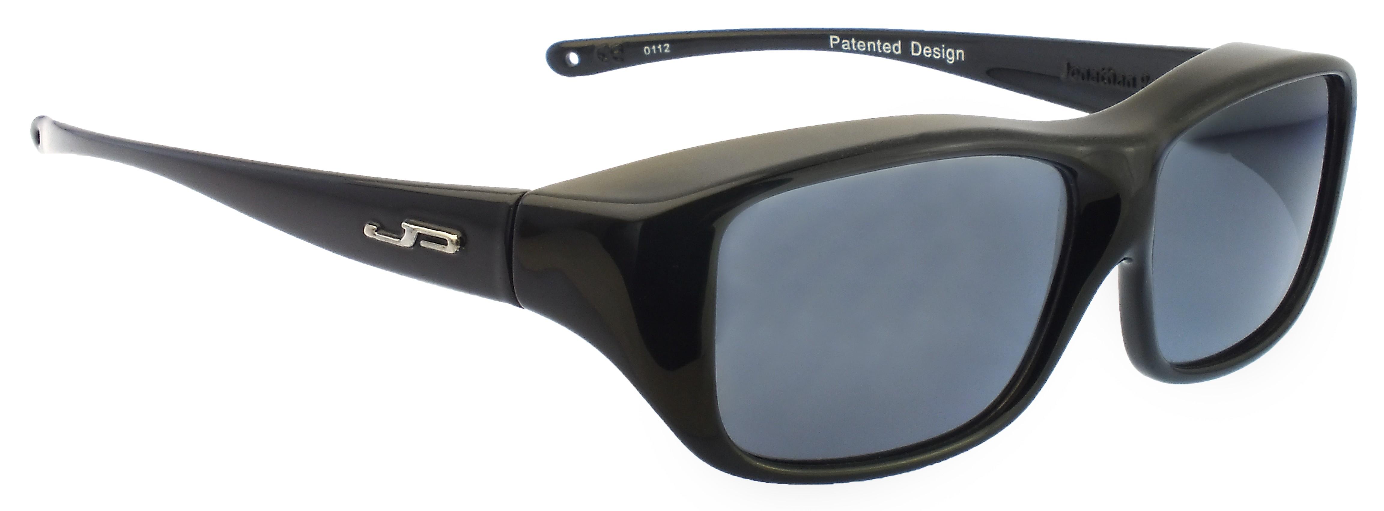1120ece395 Jonathan Paul Fitovers Large Quamby Eternal Black Polarized Gray ...