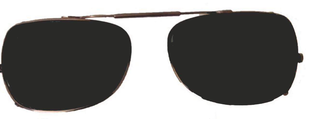 6360de9a0c6 Visionaries Polarized Clip on Sunglasses - Way - Black Frame - 54 x ...