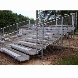 VIP Bleachers 8 Row/80 Seat/15'-Fence