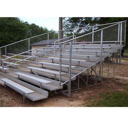 VIP Bleacher- 8 Row/144 Seat/27'-Fence