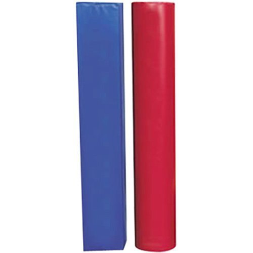"""Post Pad up to 4 1/2"""" O.D. Post Red/Blue"""