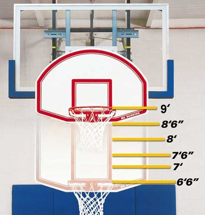 Bison Easy-Up™ 6-in-1 Mini Basketball Goal