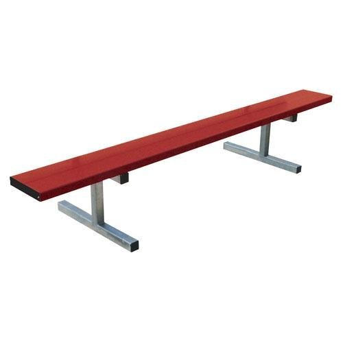 7.5' Portable Bench w/o Back (colored)