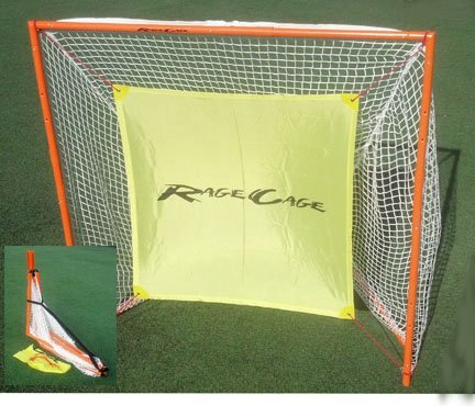 Rage Cage B100-V4 Lacrosse Goal